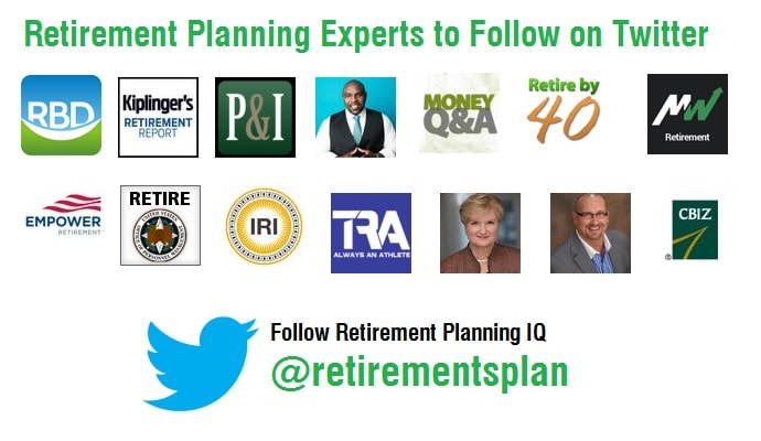 Retirement Planning Experts to Follow on Twitter
