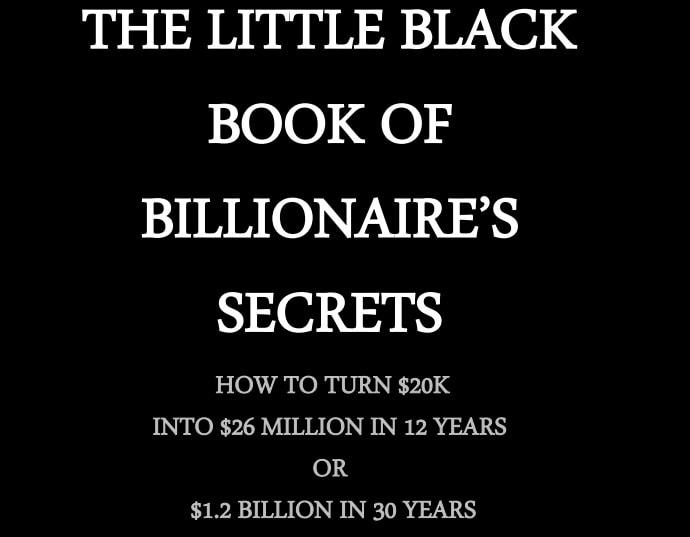The Little Black Book of Billionaire Secrets Free Download PDF-min