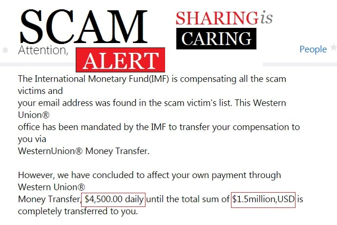 Scam Alert: International Monetary Fund(IMF) is Compensating All Scam Victims