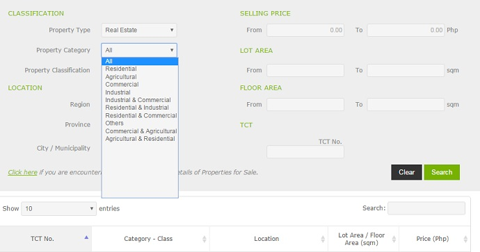 search bank owned homes for sale in land bank foreclosed properties