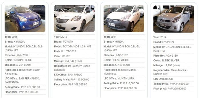 Psbank Cars For Sale >> List of PSBank Cars for Sale 300,000 & Below at Pre-Owned Auto Mart