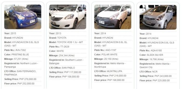 Psbank Used Cars