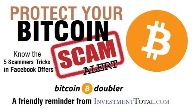5 Scammers' Tricks in Facebook Offering to Double Your BitCoin