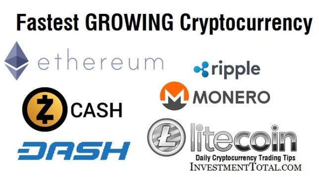 fastest growing cryptocurrency