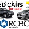 rcbc used cars for sale philippines