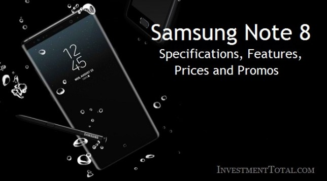 Samsung Note 8 Price, Specs, Promo 0% for BDO & Citibank Cardholder