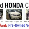 used honda cars for sale psbank