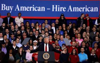"President Trump Signs ""Buy American Hire American"" (BAHA) Executive Order to reform Foreign Alien Hirings"