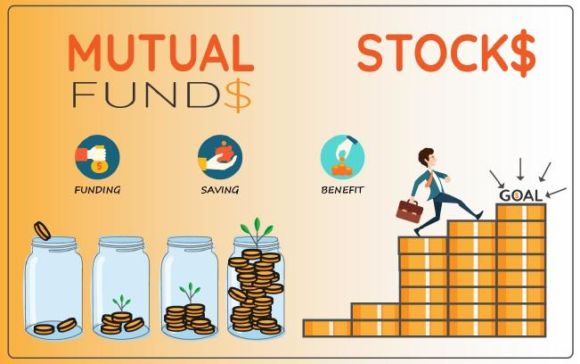 mutual funds vs stock