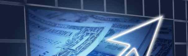 dollar rising chart