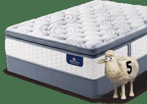 serta perfect sleeper sheep mattress