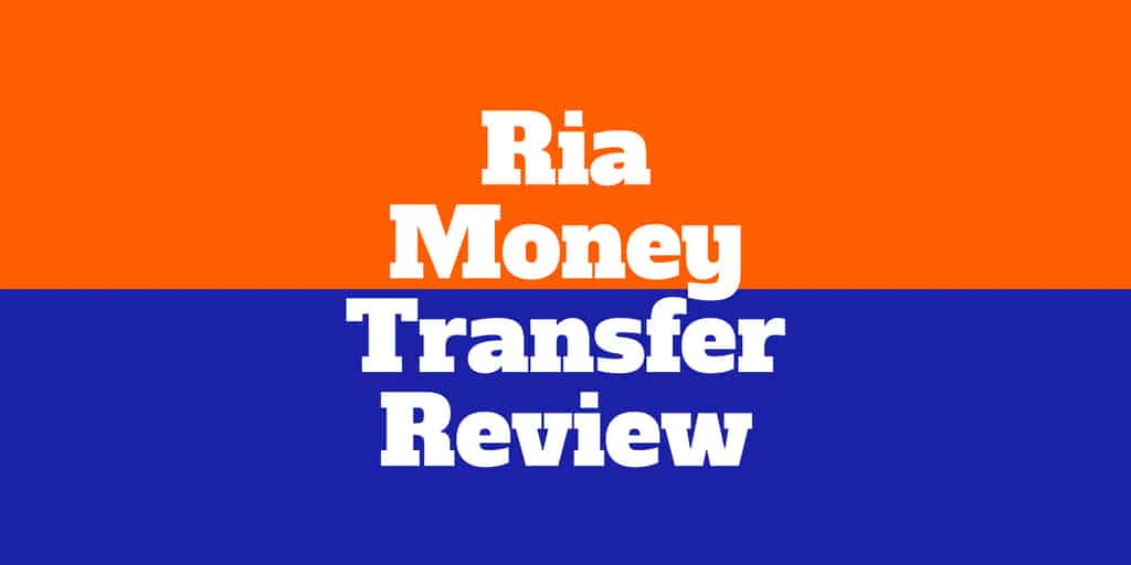 Ria Online Money Transfer Betrug