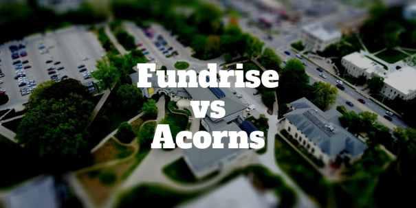fundrise vs acorns