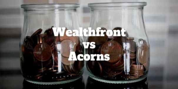 wealthfront vs acorns