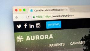 Aurora Cannabis, ACB stock