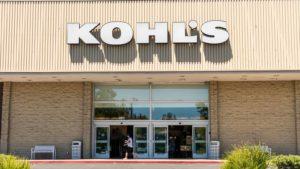 Immagine del logo Kohl (KSS) su un negozio Kohl