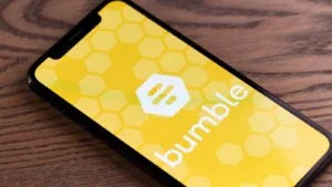 BUMBLE (BMBL) app on a smartphone
