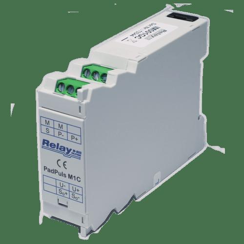 PadPuls M1C – Одноканальный импульсный преобразователь в исполнении для установки на DIN-планку