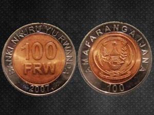 100 FRW Ruanda