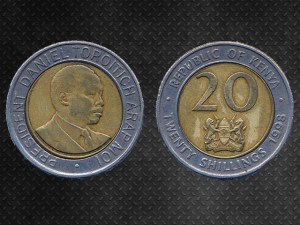 20 Shilling Kenya