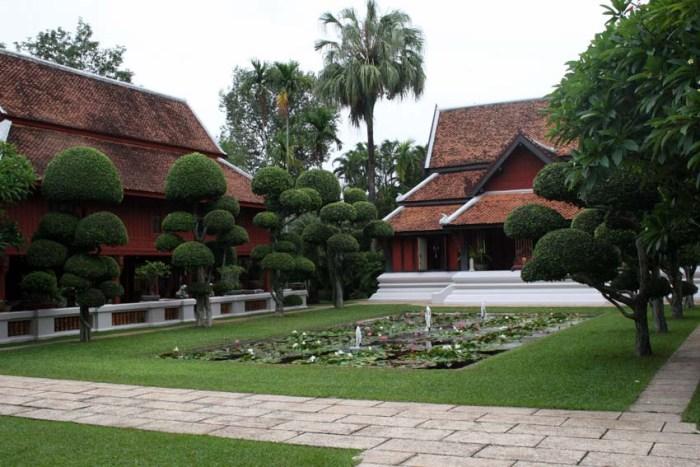 Baan Khampun with its meticulous gardens © Arno Maierbrugger