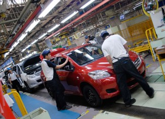 Toyota expands production in the Philippines by 20%