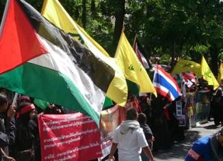 Palestinians protest in Bangkok (photoblog)