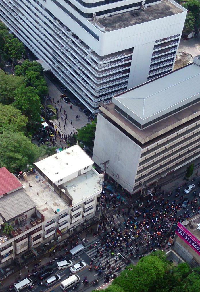 Palestine protests Israel embassy Bangkok_Arno Maierbrugger