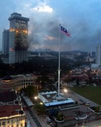 Bukit Aman fire