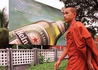Myanmar becomes brewing beer battlefield for Carlsberg, Heineken