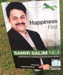 #happinessfirst: Mr Samir's campaign for Bukit Batok
