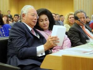 Najib and wife