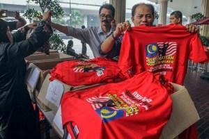 Red shirts Kuala Lumpur