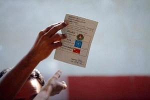 Myanmar ballot