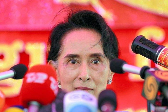 Suu Kyi wins elections