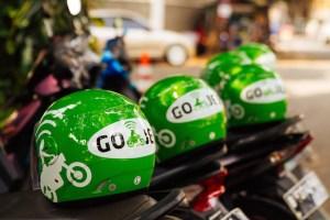 GoJek motorbike taxi