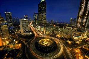 Jakarta roundabout
