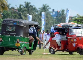 Tuk-tuk polo, an inspiration for Thailand?