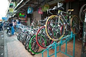 Cambodia bicycles
