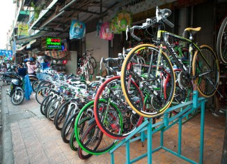 Cambodian bikes a big hit in Europe