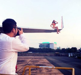 VietJet photo shooting