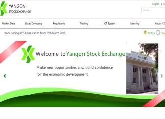 Yangon Stock Exchange's sole listed company soars 19.2% on first trading day