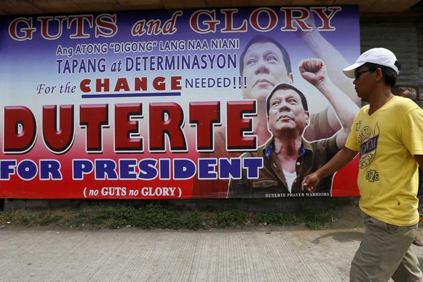 Duterte reveals economic agenda: Aquino's policies continued