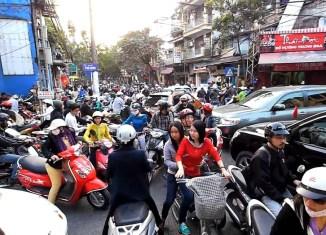 Hanoi's new utopia: No more motorcycles by 2025