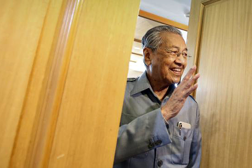 Malaysia's Mahathir attacks ruling PM with new party