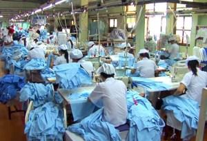 Cambodia garment worker