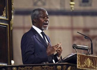 Kofi Annan chosen to help find solution for Myanmar's Rohingya issue