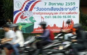 Thai referendum