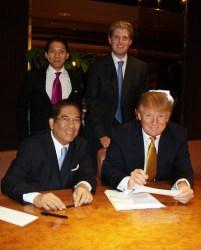 Trump Tower Manila Signing