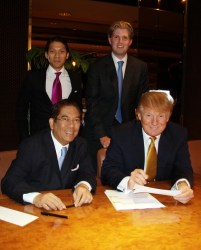 Trump Tower Manila Signing